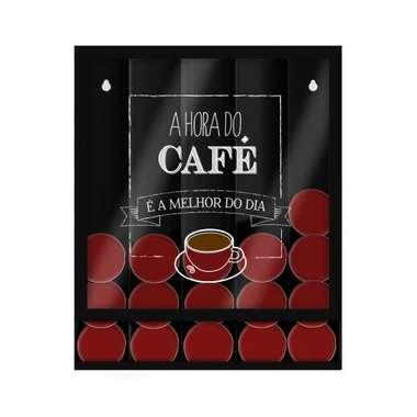 Suporte para Cápsulas de Café Universal - O Melhor do Dia