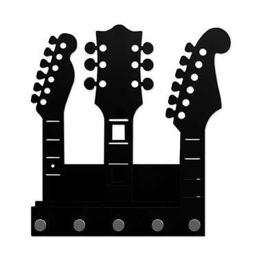 Porta-Chaves Guitarras em chapa de aço