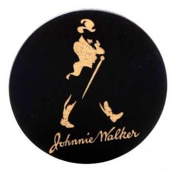 Porta Copos Johnnie Walker - Dourado - 4 und