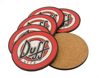 Porta Copos - Duff Logo - 6 und
