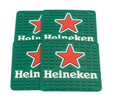 Porta Copos - Heineken Logo - 4 und