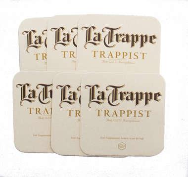 Porta Copos - La Trappe - 6 unid R$ 6,90