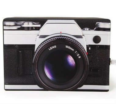 Pufe / Puff Máquina Fotográfica