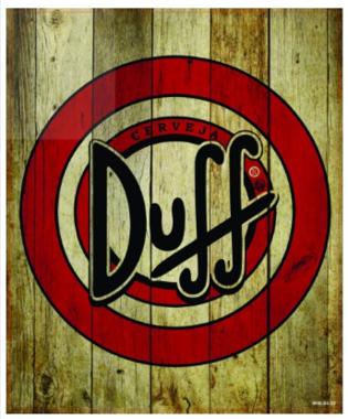 Placa MDF Duff