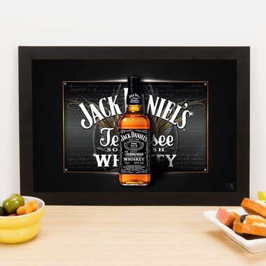 Quadro Jack Od Time - Linha CDB Designer 22x33 cm