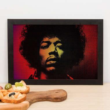 Quadro Jimi Hendrix - 23x33 cm