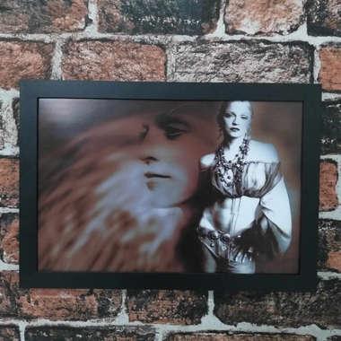 Quadro Madonna Pop - Linha CDB Designer 33x22 cm