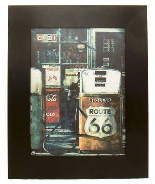 Quadro Route 66 - 53x43 cm