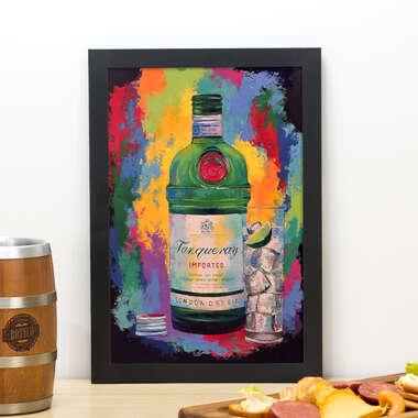 Quadro Tanqueray Fest- 33x22 cm