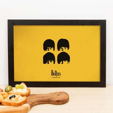 Quadro The Beatles  - 22x33 cm