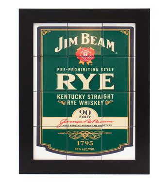 Quadro com Azulejos - Jim Beam