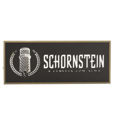 Espelho Decorativo - Schornstein - Moldura dourada - Fundo Preto