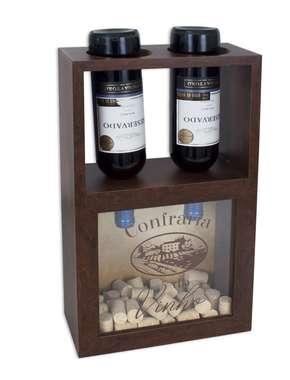 Quadro porta rolhas - Confraria do Vinho