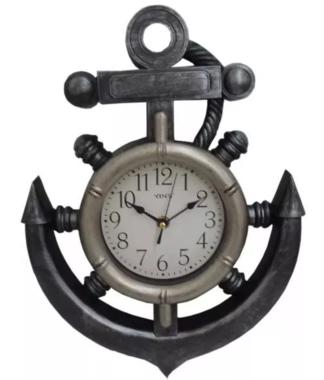 Relógio de Parede Antigo - Modelo Âncora