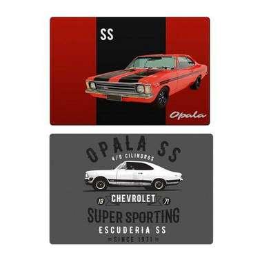 Jogo americano - Opala SS - Chevrolet Coleção Oficial Home