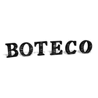 Letras Decorativas Aço MDF - Boteco