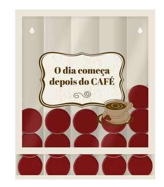 Suporte para Cápsulas de Café Universal- Depois do Café