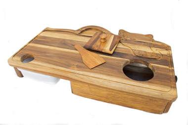 Tábua artesanal para Churrasco Inteligente Big Boi Grill