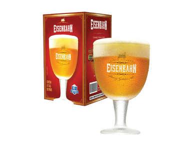 Taça Cerveja 400 ml - Eisenbahn Strong Golden Ale