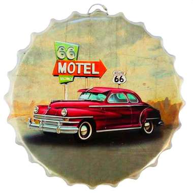 Tampa Metal Motel Route 66 - 40 cm