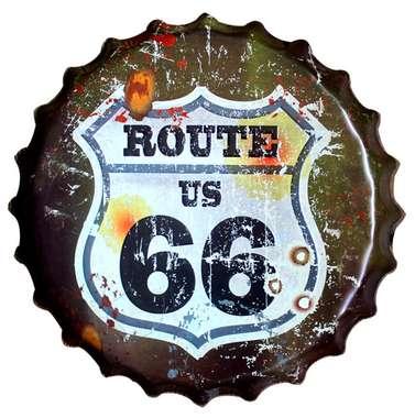 Tampa Metal Route 66 40 cm