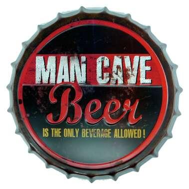 Tampa Metal  Man Cave 40 cm