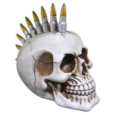 Caveira de Resina - Punk