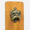 Abridor de Garrafas para Parede - DOG ouro velho- 30x11cm