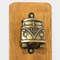 Abridor de Garrafas para Parede - Kombi ouro velho - 30x11cm