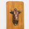 Abridor de Garrafas para Parede - Touro Bronze - 30x11cm
