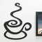 Palavra Decorativa para Parede - Cheiro de Café  - 34 x 26 cm
