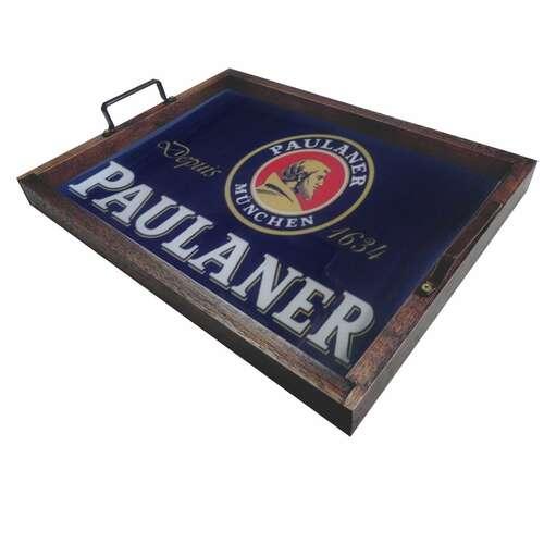 Bandeja Decorativa de Azulejos - Paulaner - 43 x 33 cm