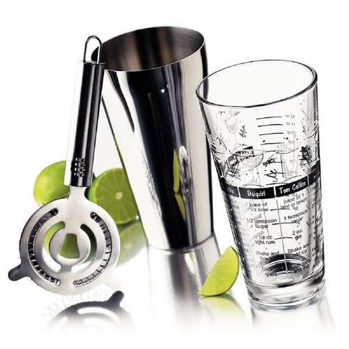 Bar Mix Shaker Set - Kit 3 peças - Libbey