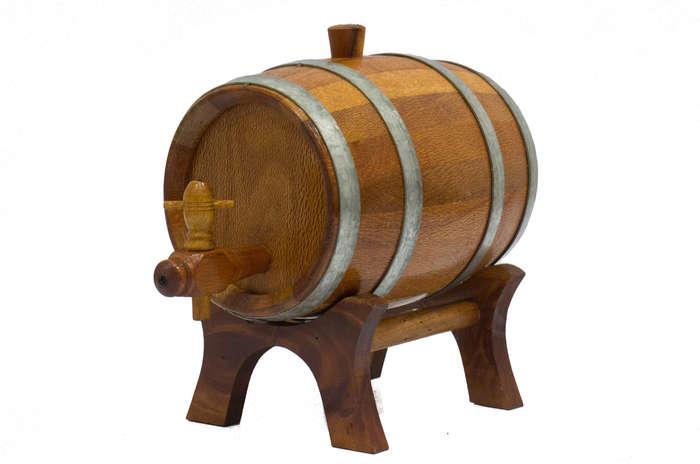 Barril de Carvalho Artesanal - 2 litros