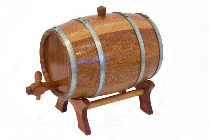 Barril de Carvalho Artesanal - 5 litros