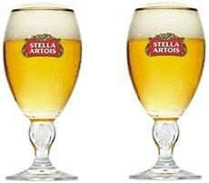 Kit 2 Cálices Cerveja Stella Artois 250ml