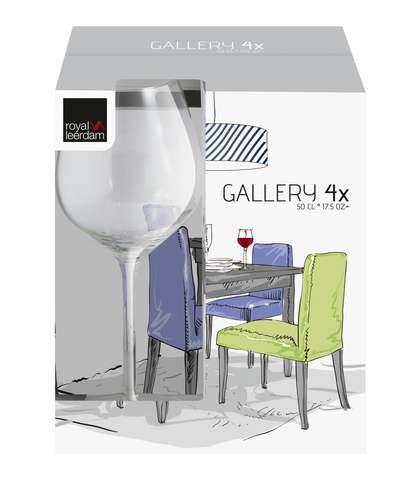 Kit 4 Taças Vinho - 500 ml - Royal Leerdam