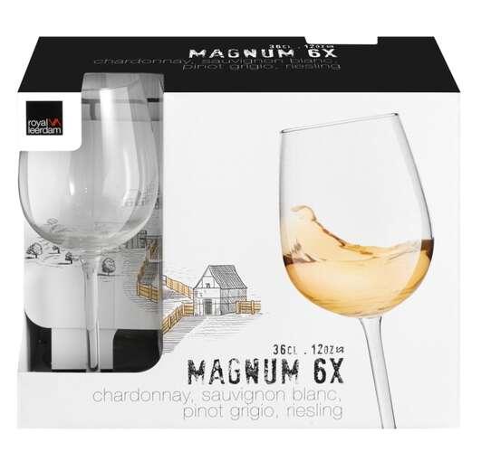Kit 6 Taças Vinho Magnum  360 ml - Royal Leerdam