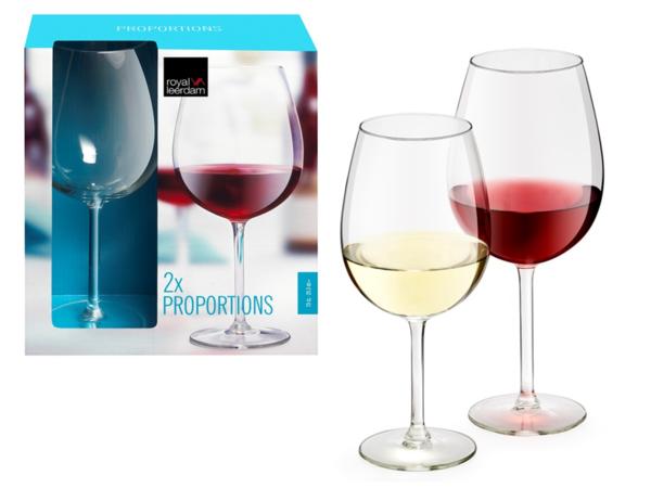 Kit 2 Taças Vinho 580 ml - Royal Leerdam