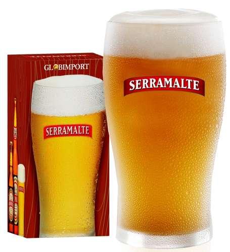 Copo Cerveja Serramalte - 340 ml