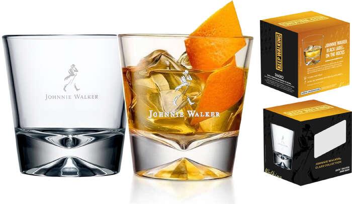 Kit 2 Copos Whisky Johnnie Walker - 300 ml