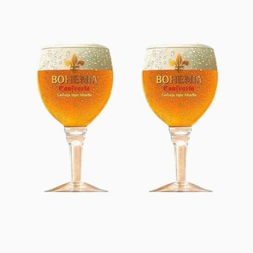 Kit 2 Taças para Cerveja - Bohemia Confraria 430ml
