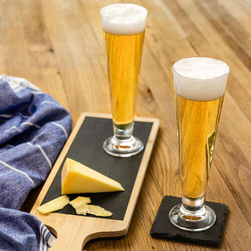 Kit 2 Tulipas para Cerveja Palladio - 385 ml Bormioli Rocco