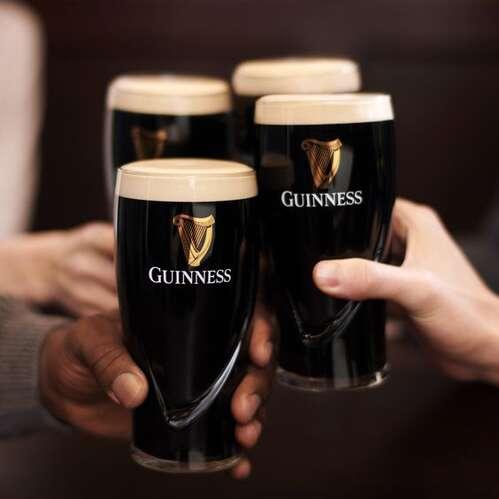 Kit 4 Copos Cerveja Guinness - 510 ml