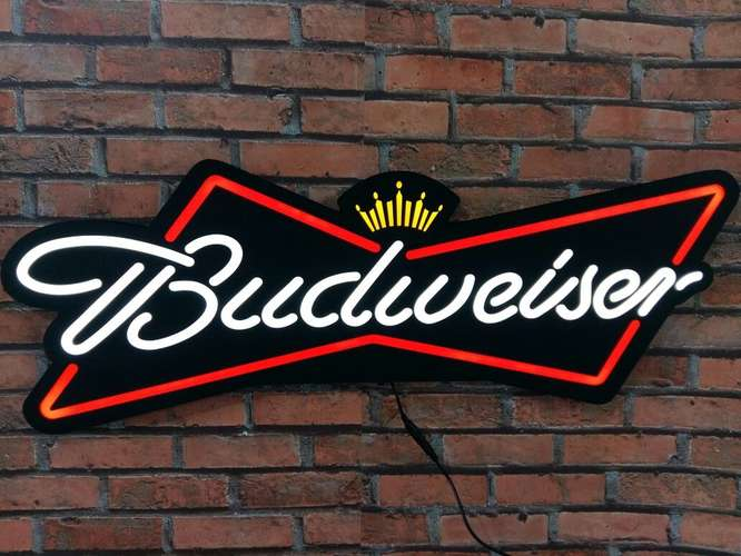 Luminoso Budweiser Led 80cm