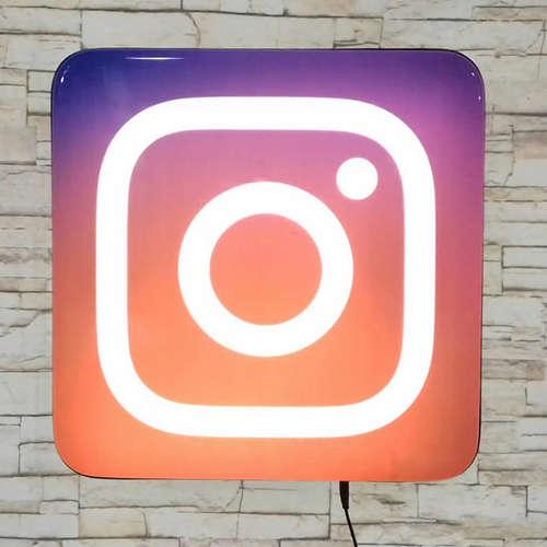 Luminoso Instagram - 40cm