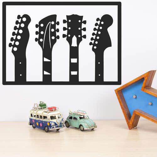 Palavra decorativa para parede - Música - 42x29 cm