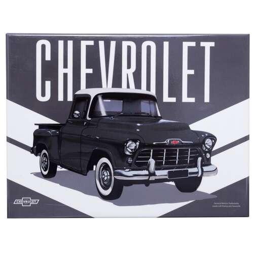 Placa Decorativa de Metal - GM Pick Up 3100 Stripes - 19 x 26 cm