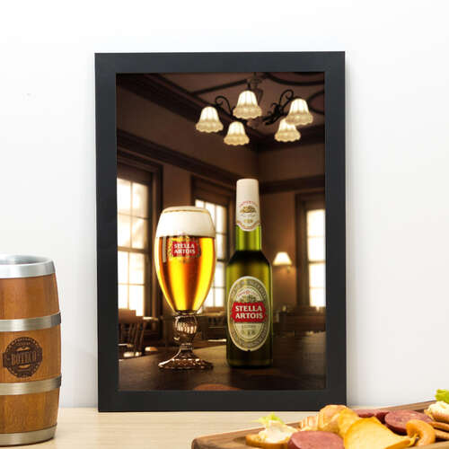 Quadro Stella Artois - 33x22 cm