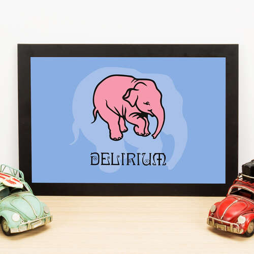 Quadro Delirium - 22x33 cm